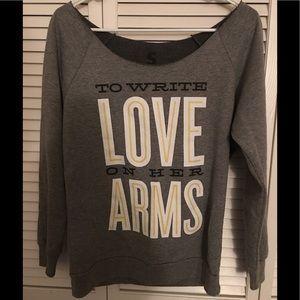 TWLOHA sweatshirt small